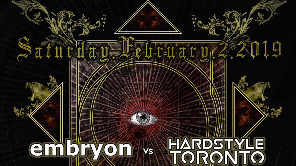 RA: Embryon: vs Hardstyle Toronto at Christie Pits Pub, Toronto