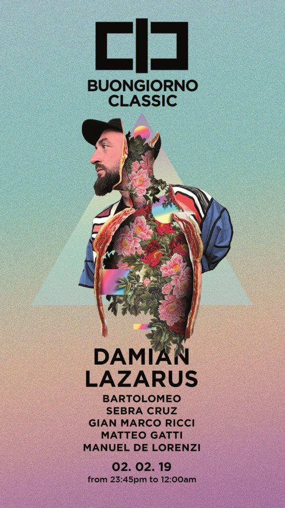 Ra Buongiorno Classic W Damian Lazarus At Buongiorno