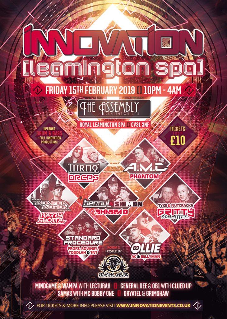 Events Leamington spa