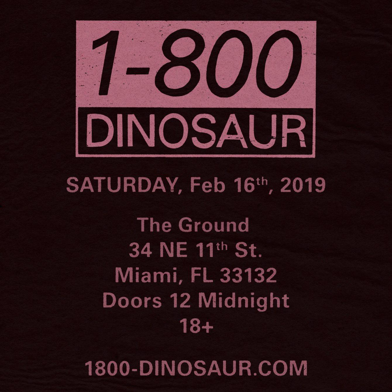 James Blake's 1-800 Dinosaur
