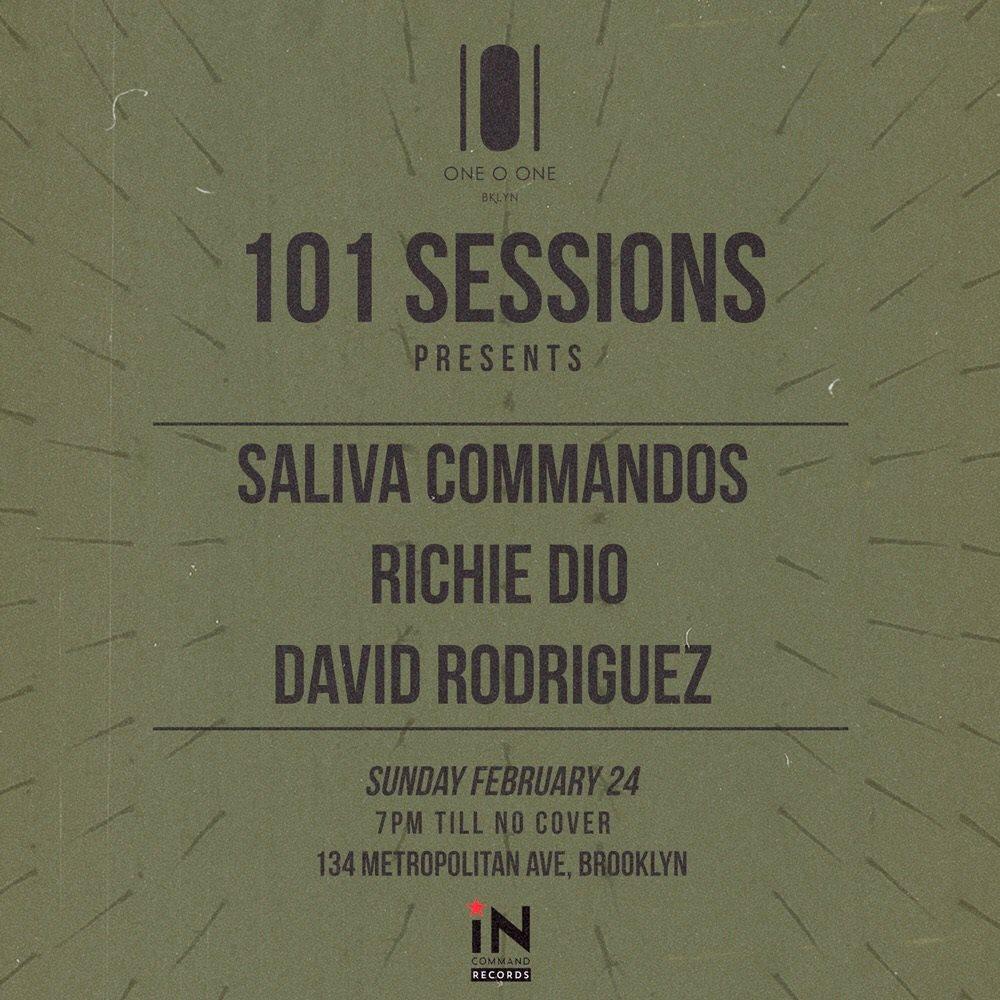 Ra 101 Sessions Saliva Commandos Richie Dio David Rodriguez At