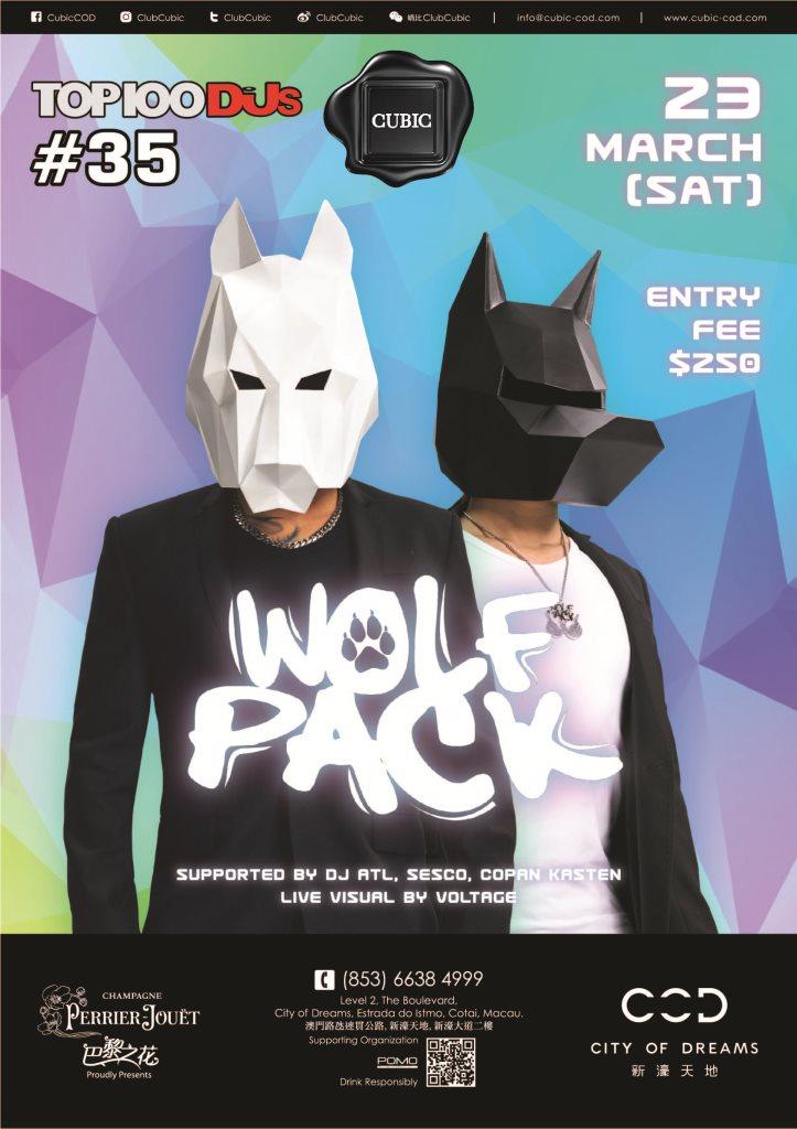 RA: Club Cubic presents Wolfpack at Cubic, Macau