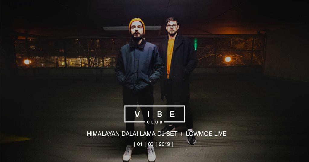 RA: Himalayan Dalai Lama DJ set Lowmoe Live at Vibe Club
