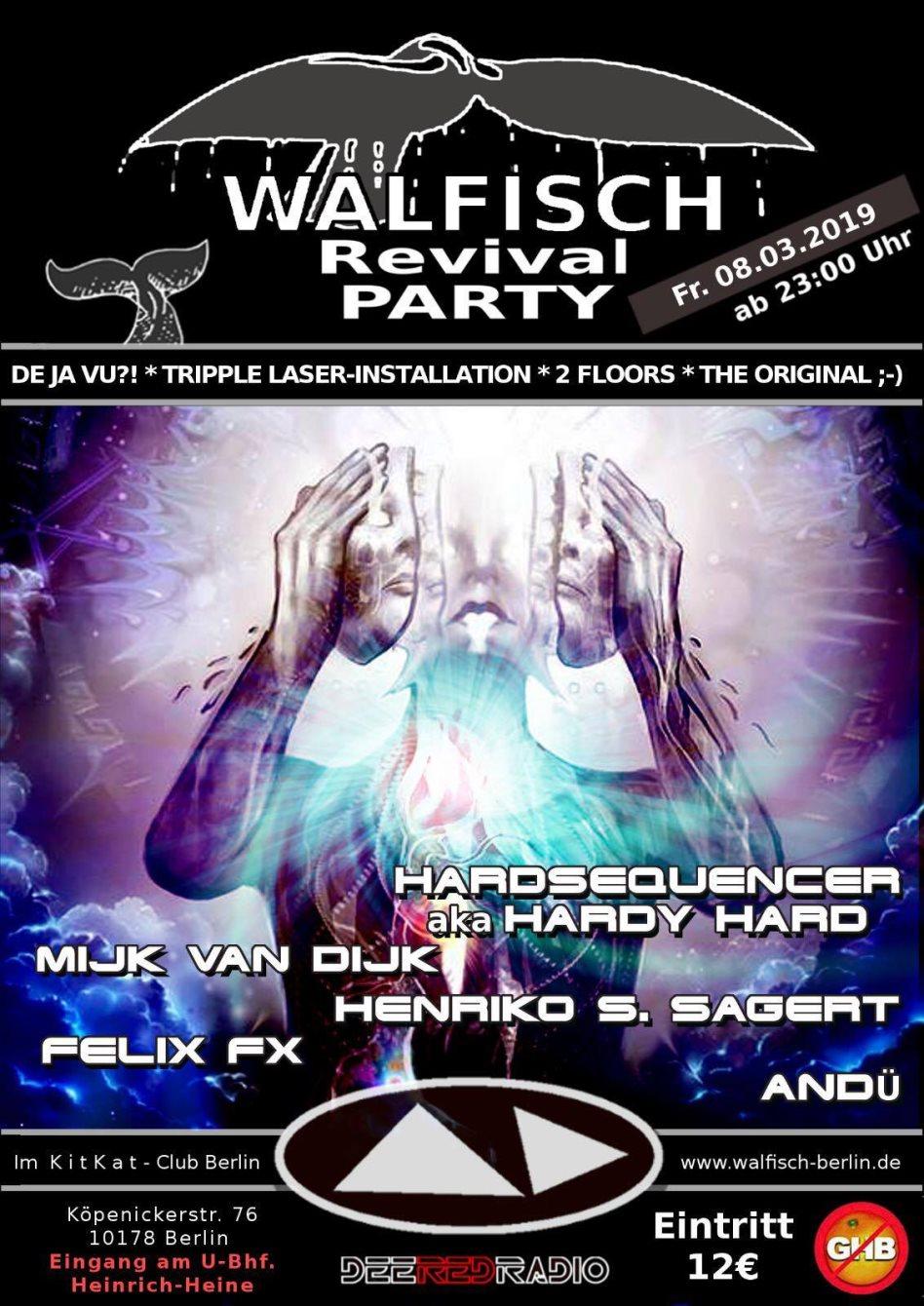 Ra Walfisch Revival Party At Kitkatclub Berlin