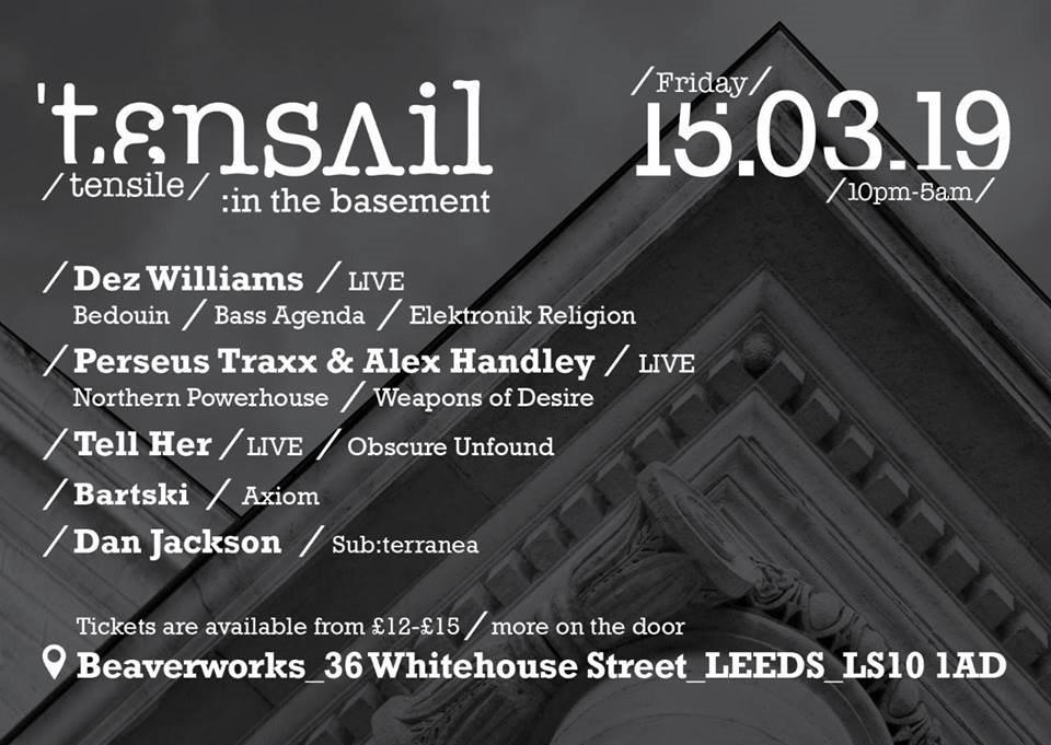 RA: Tensile: In the basement at Beaver Works, Leeds