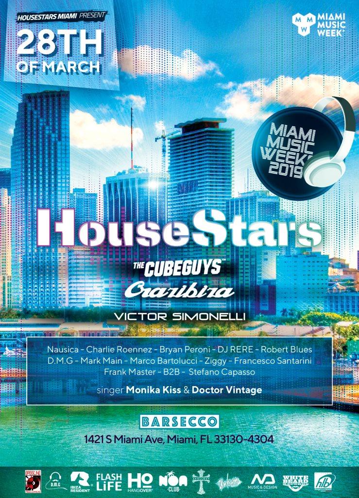 RA: House Stars at Barsecco, Miami