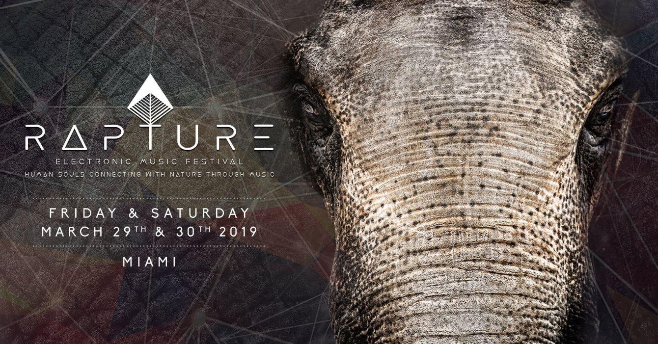 RA: Rapture Festival 2019 at TBA - Miami, Miami