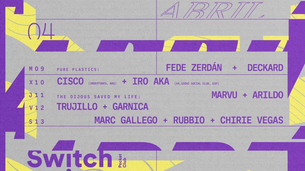 RA: Cisco & Iro Aka at Switch Bar, Barcelona