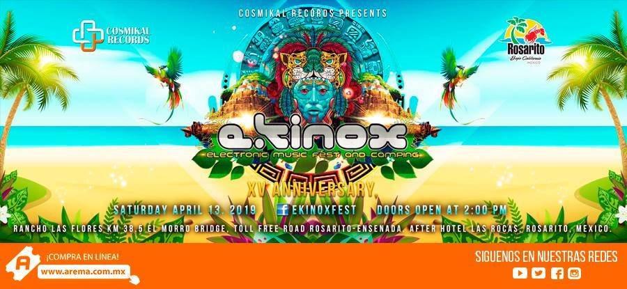 RA: Ekinox Festival XV Anniversary at Rancho Las Flores, North