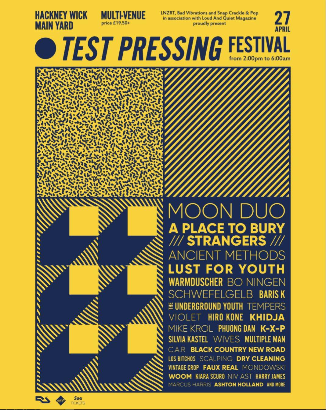 RA: Test Pressing Festival at Studio 9294, London