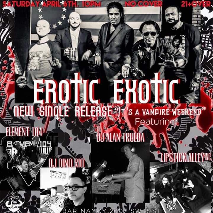RA: Erotic Exotic / Element 104 / Lipstick Alley Inc , Miami at Bar