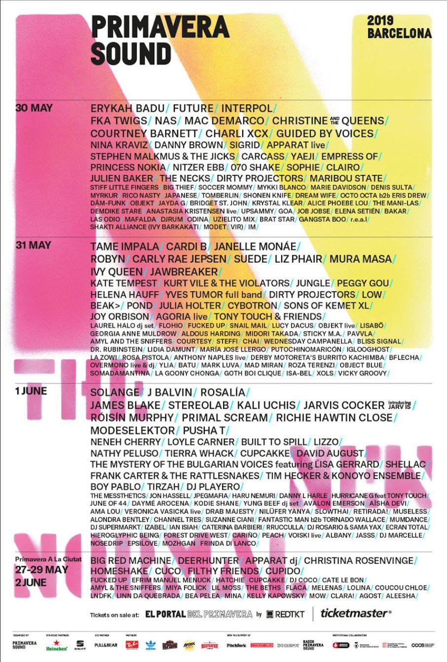 RA: Primavera Sound 2019 (Friday) at Parc Del Forum, Barcelona