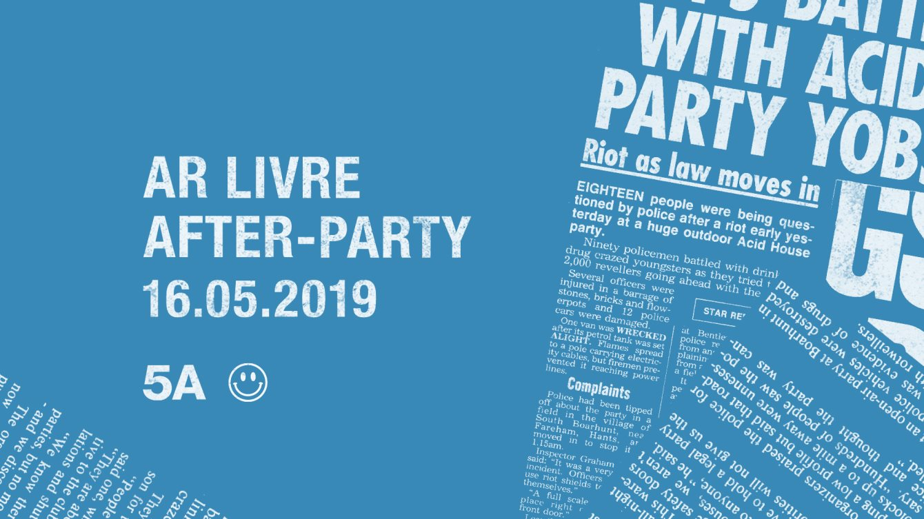 Ra Ar Livre After Party At 5a Lisbon