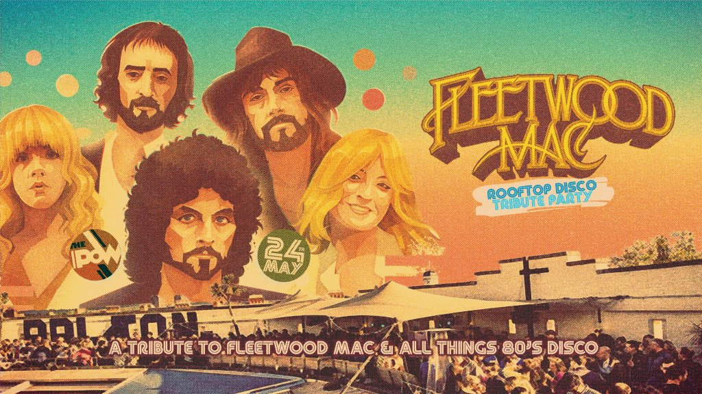 RA: The Fleetwood Mac Summer Rooftop Party at The Prince of Wales