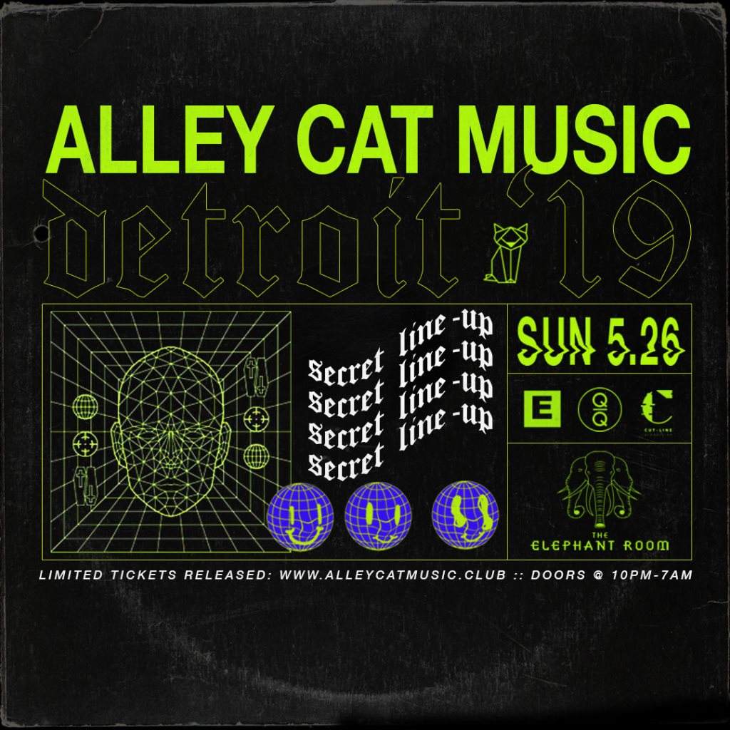 RA: Alley Cat Music: Detroit '19 at The Elephant Room, Detroit