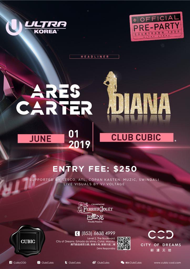 RA: Club Cubic presents Ultra Korea Official pre-Party at Cubic, Macau