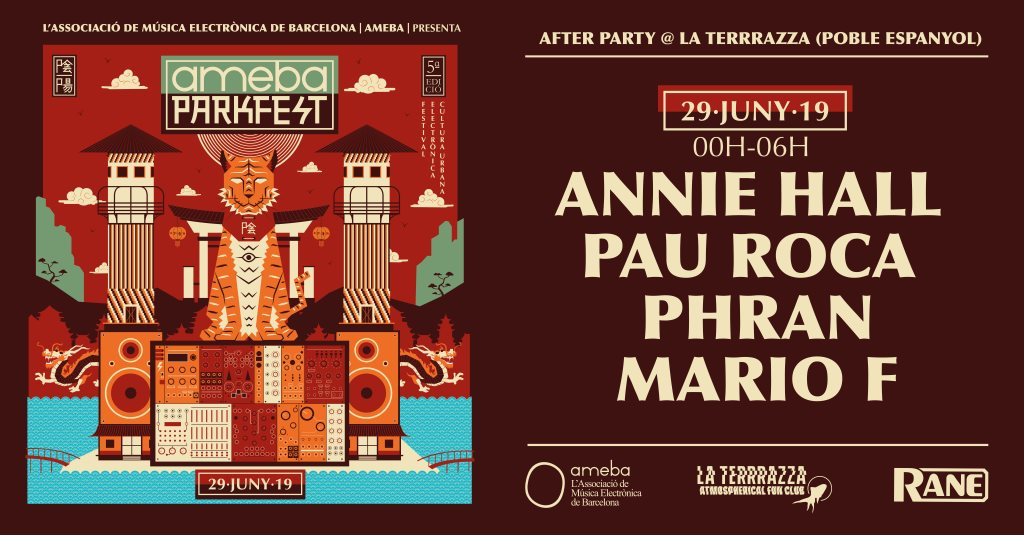 Ra Ameba Parkfest After Party At Rrr At La Terrrazza