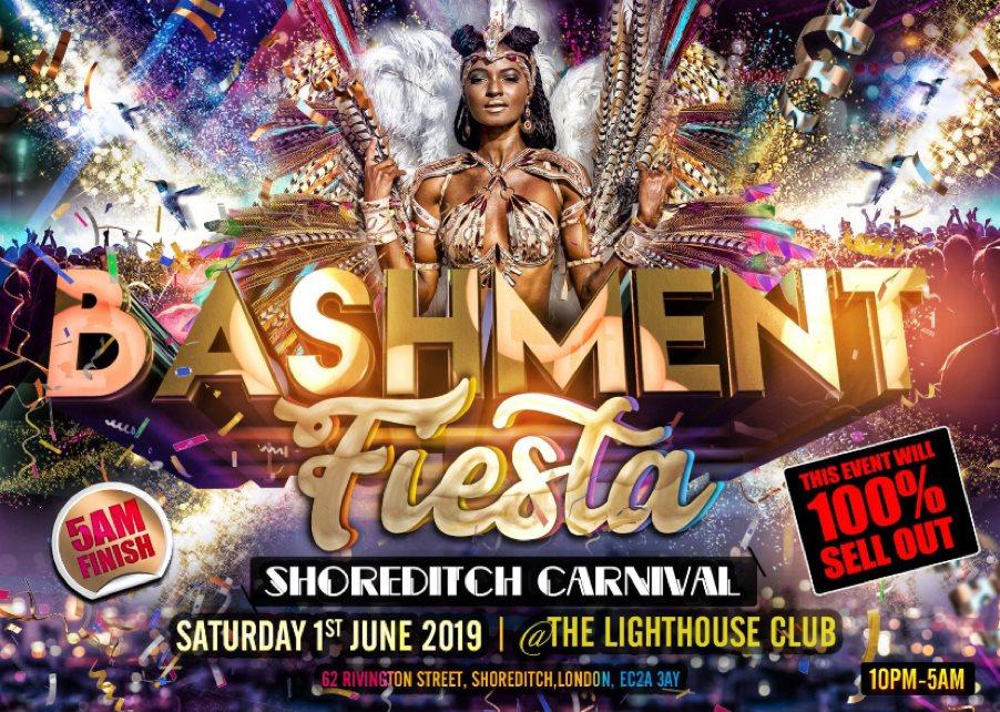 RA: Bashment Fiesta - Shoreditch Carnival at The Lighthouse