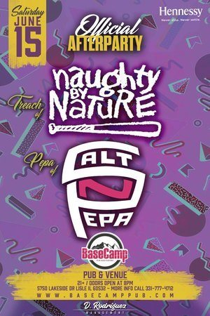 RA: Official Salt n Pepa Plus Naughty By Nature After Party