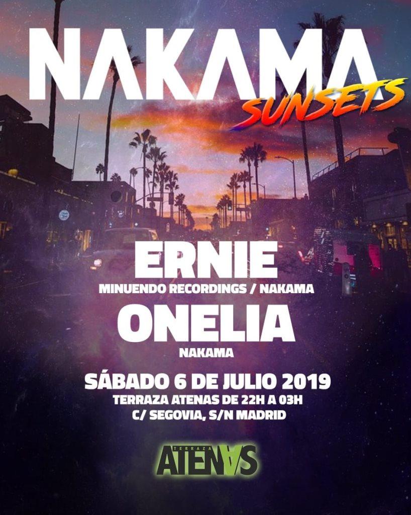 Ra Nakama Sunsets At Terraza Atenas Madrid 2019