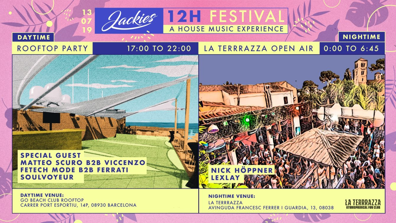 Ra Jackies 12h Festival Rooftop Party Daytime La