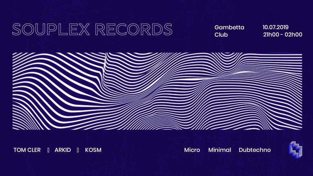 RA: Souplex Records (micro, minimal, dub techno) at Le Gambetta Club