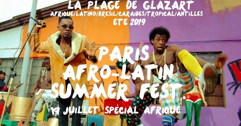 RA: Paris Afro-Latin Summer Fest  at La Plage du Glazart, Paris