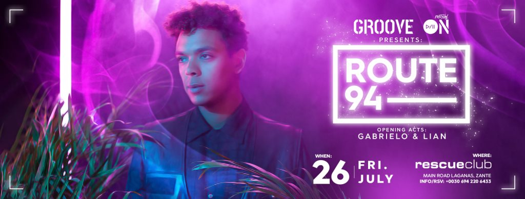 RA: Groove On Festival presents: Route 94 at Rescue Club