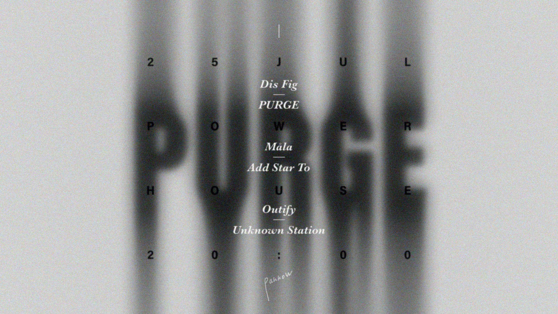 RA: Purge / PANKOW at Powerhouse Moscow, Moscow