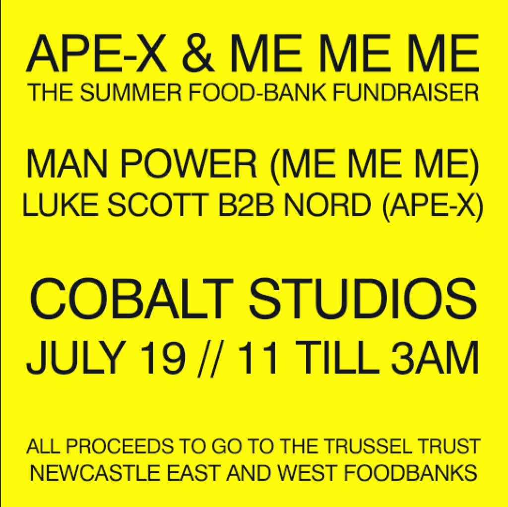 Ra Ape X Me Me Me The Summer Food Bank Fundraiser At