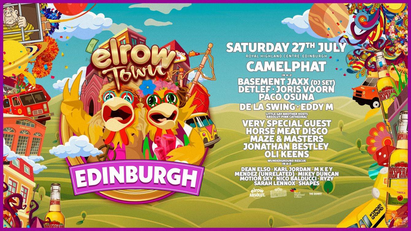 Ra Elrow Town Festival Edinburgh 27th July 2019 At Royal Highland Centre Edinburgh 2019