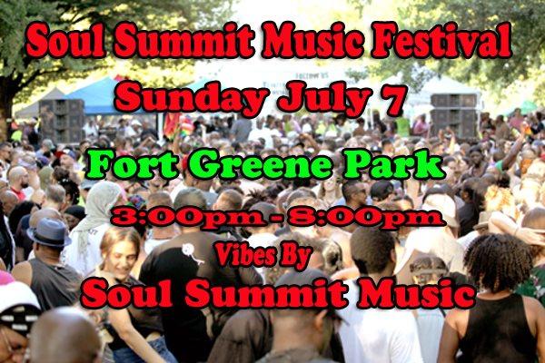 RA: Soul Summit Music Festival at Fort Greene Park, Brooklyn, New York