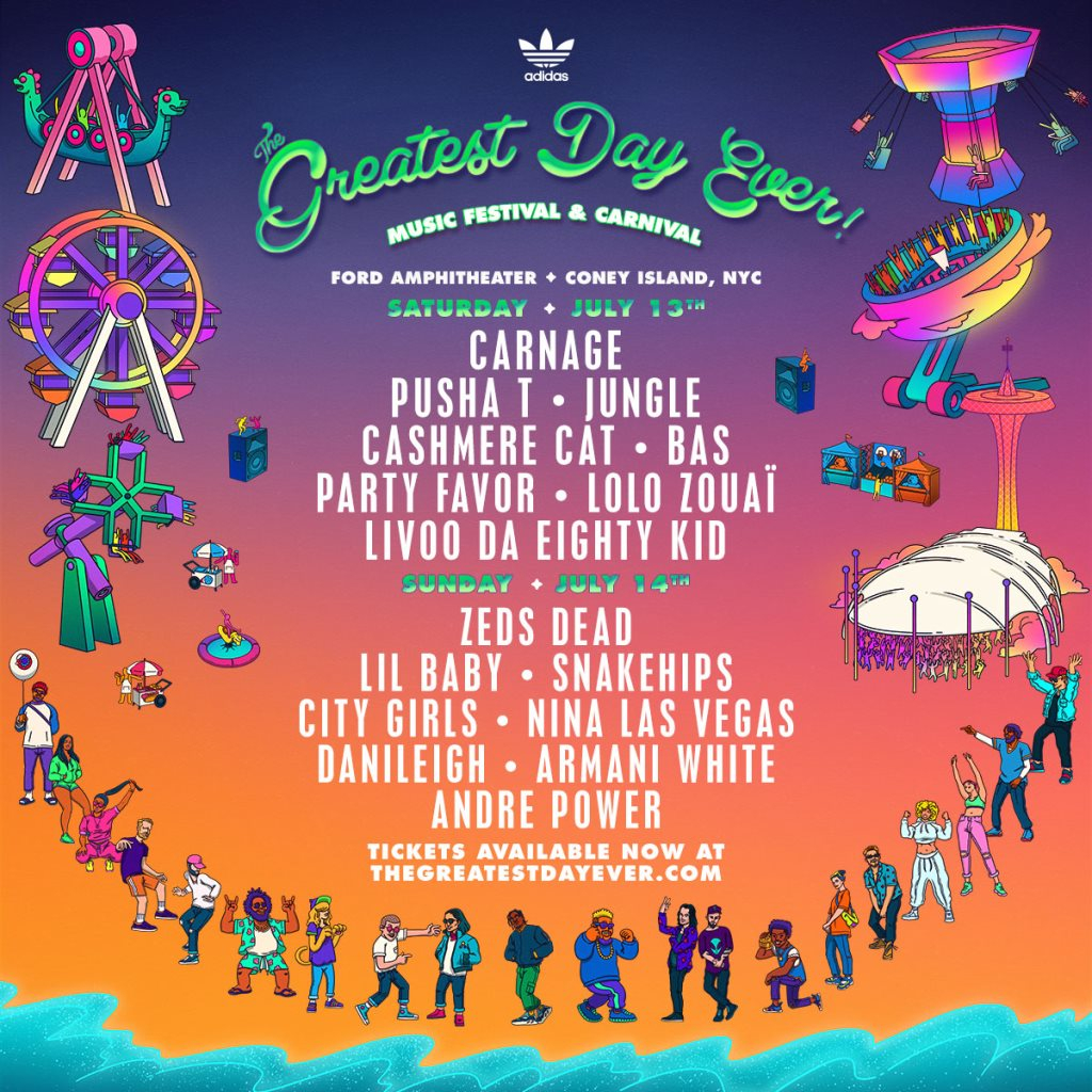 RA: The Greatest Day Ever! Festival 2019 at Coney Island