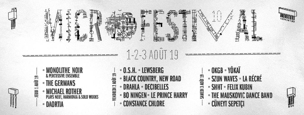 RA: Micro Festival #10 at Espace 251 Nord, Belgium