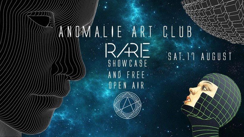 RA: Anomalie Clubnight xxx RA+RE Showcase & Free Open Air at