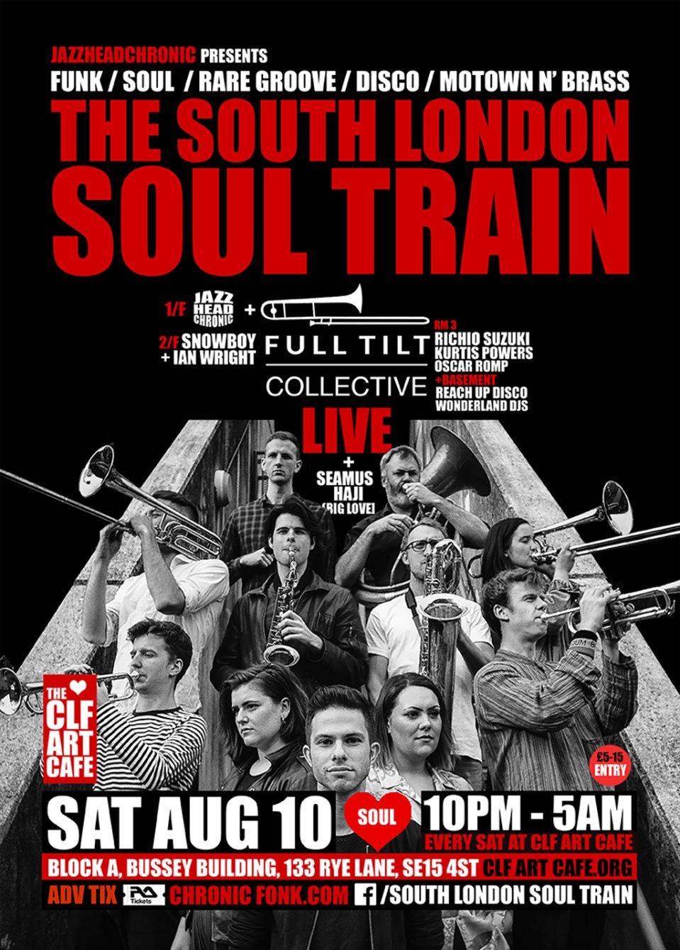 RA: The South London Soul Train with Bukky Leo & Black Egypt Live