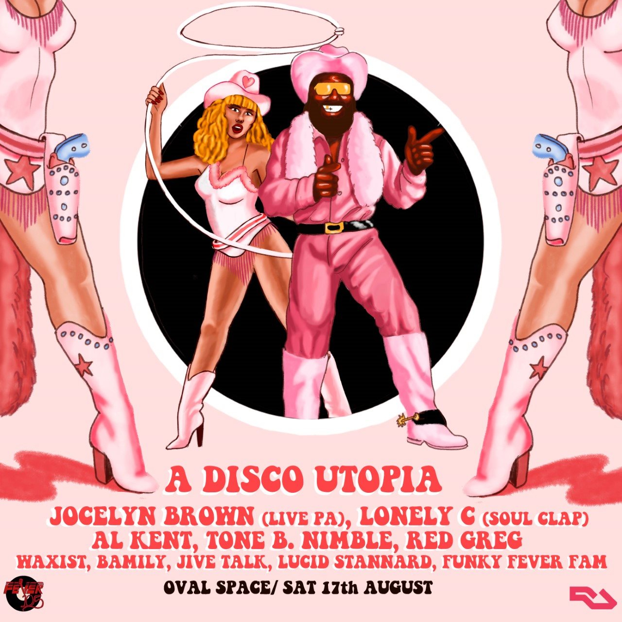 RA: Fever 105's 'A Disco Utopia' with Jocelyn Brown, Lonely
