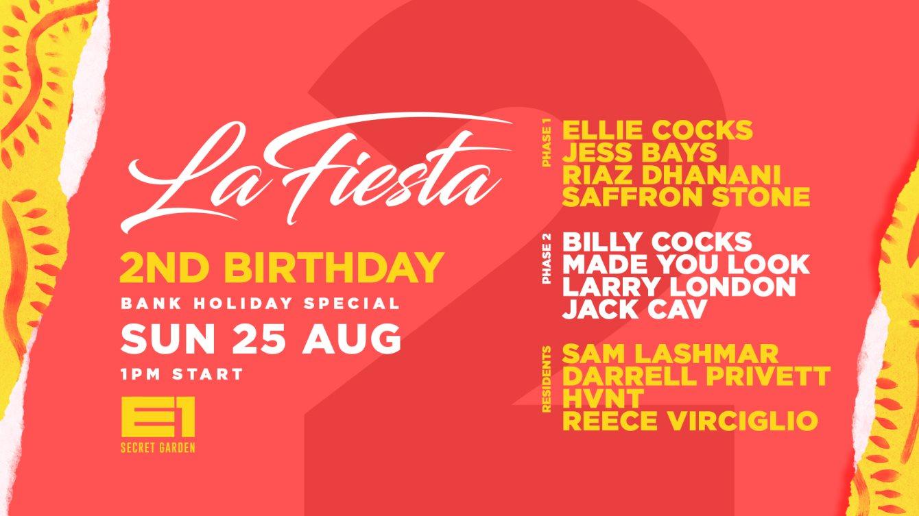 RA: La Fiesta Birthday Festival at E1 London, London