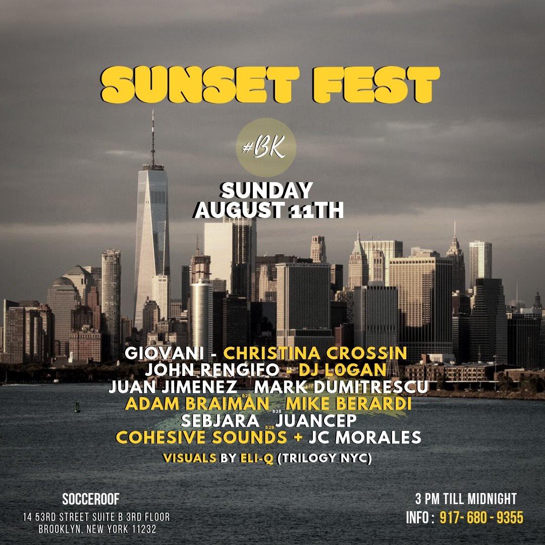 RA Tickets: Sunset Fest BK at Socceroof, New York