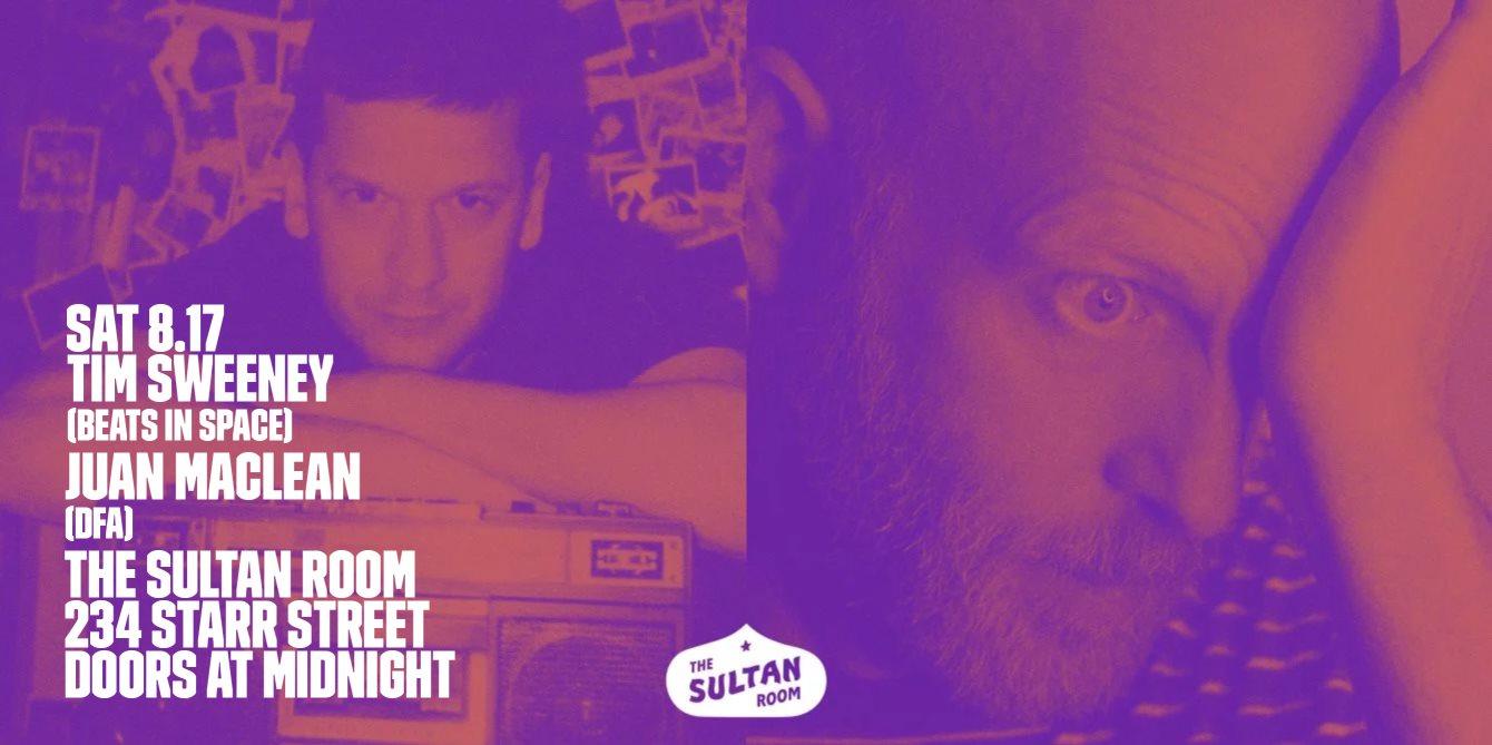 RA: All Night with Tim Sweeney (Beats In Space) + Juan