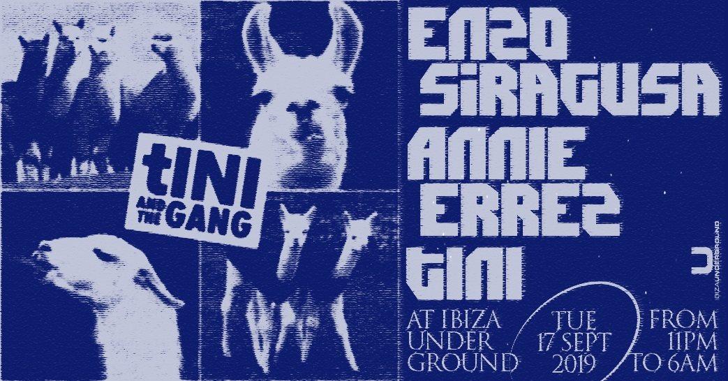 RA: tINI and the gang - Enzo Siragusa, Annie Errez and tINI