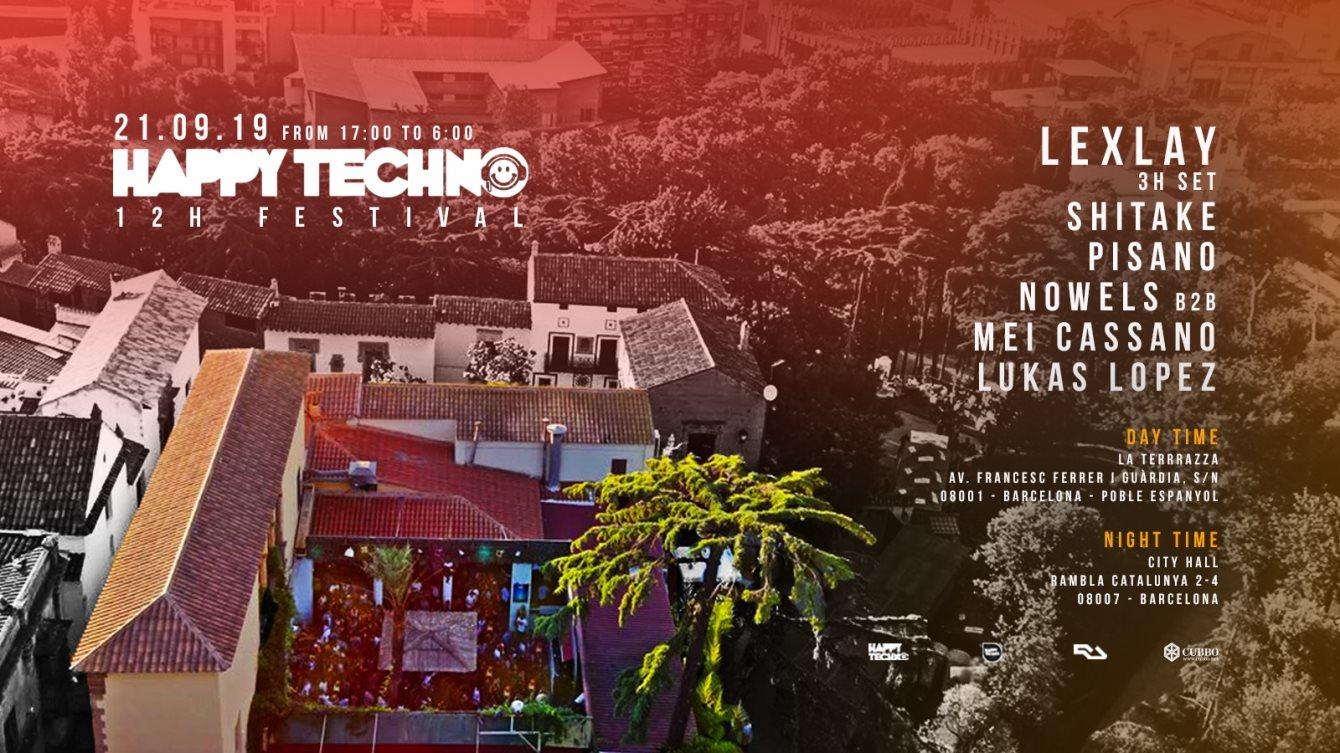 Ra Happy Techno 12h Festival La Terrrazza Daytime City