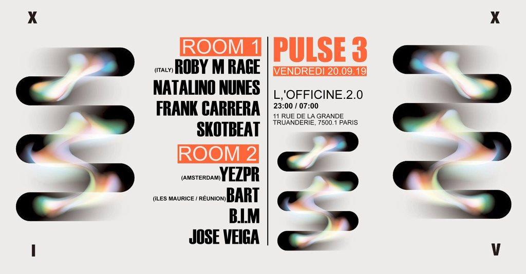 RA: Pulse 3 at L'officine 2 0, Paris