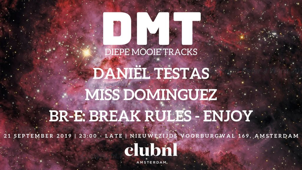 RA: DMT at Club NL, Amsterdam