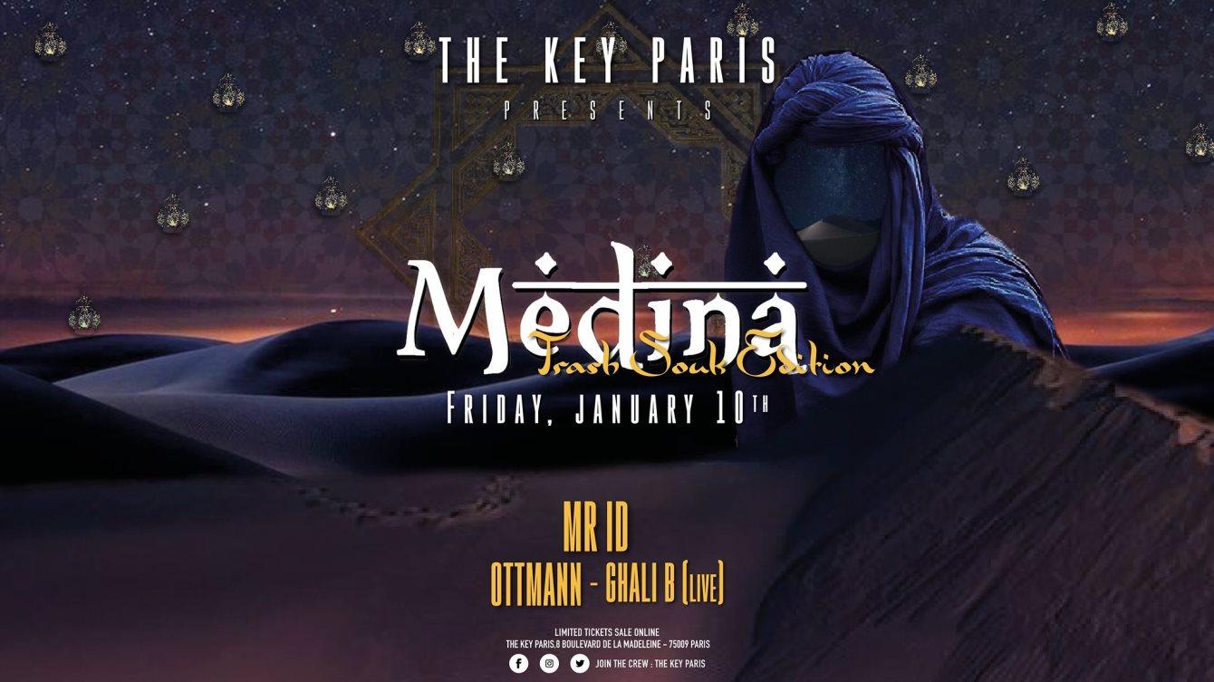 Ra The Key Paris Medina With Mr Id At The Key Paris Paris