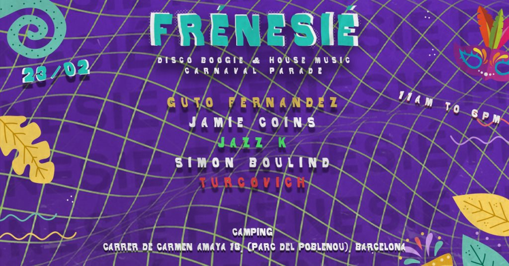 Ra Frenesie Open Air House Music Carnaval Parade At Camping Barcelona