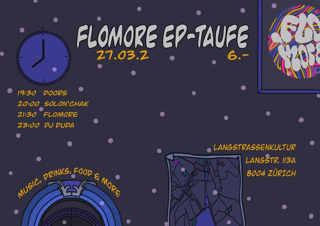 Ra Flomore Ep Plattentaufe At Langstrassenkultur Zurich