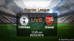 watch arsenal vs tottenham game online free