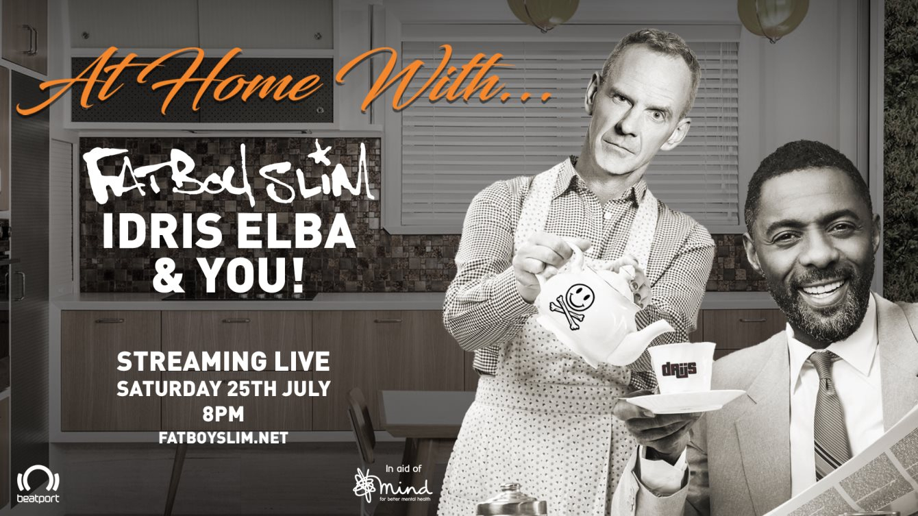 RA: At Home With... Fatboy Slim, Idris Elba & You at Livestream ...