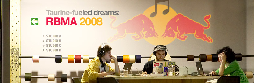 Taurine-fueled dreams: RBMA 2008
